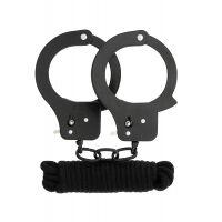 BondX Metal Cuffs & Love Rope Set