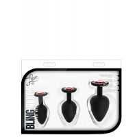 Luxe Bling Plugs Training Kit Red Gems