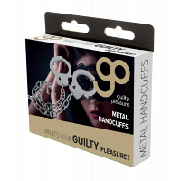 Guilty Pleasure Metal Handcuffs with Long Chain