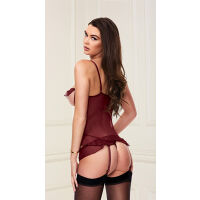 Baci Lingerie Show Me Bustier And G-String Set