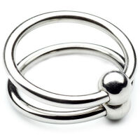 Metal Hard Double Glans Ring 30mm