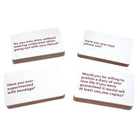 Bride-To-Be's Dirty Secrets Card Game