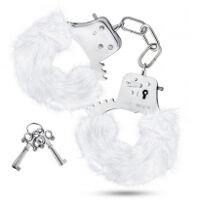 Temptasia - Plush Fur Cuffs - White