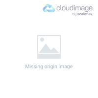 Ohmama Silver Butt Plug 8 Cm White Tail