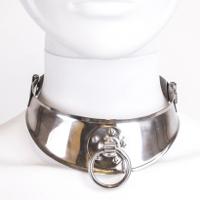 Metal Hard Restricted Slave Collar