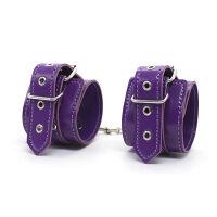 Purple 8 pcs Bondage kit