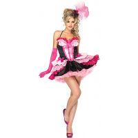 Pink Layered Tutu Dress Halter Neck Queen Costume